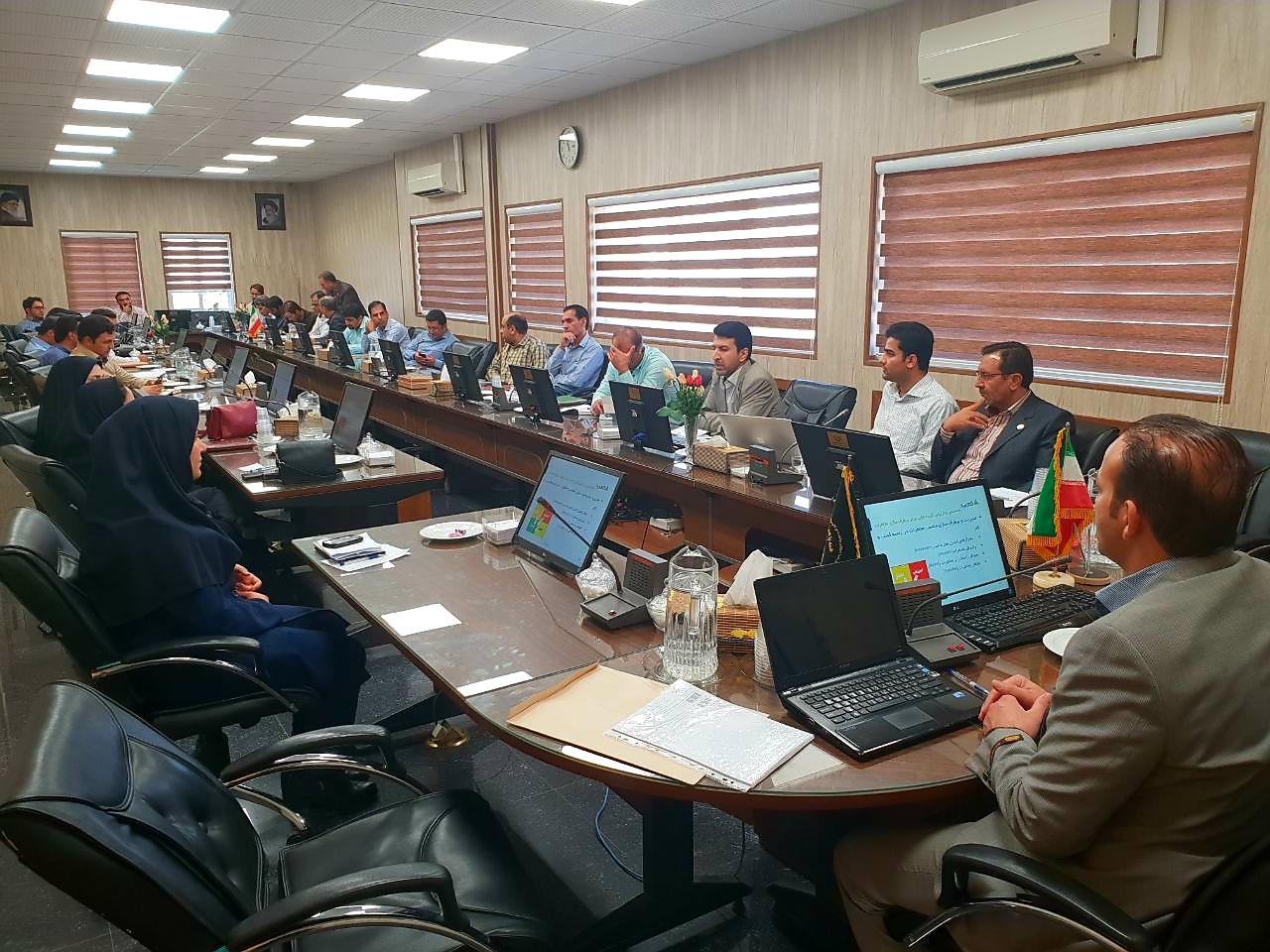 جلسه آموزشی نحوهی پیادهسازی ISMS در سازمان جهاد کشاورزی استان فارس